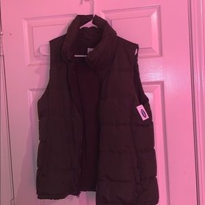 Old Navy Olive Green Vest